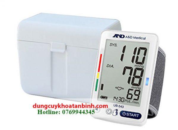 Máy đo huyết áp tự động AND UB - 543 Nhật Bản giá cực rẻ